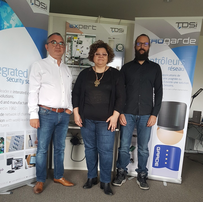 TDSi France Celebrates 20 Years of Success