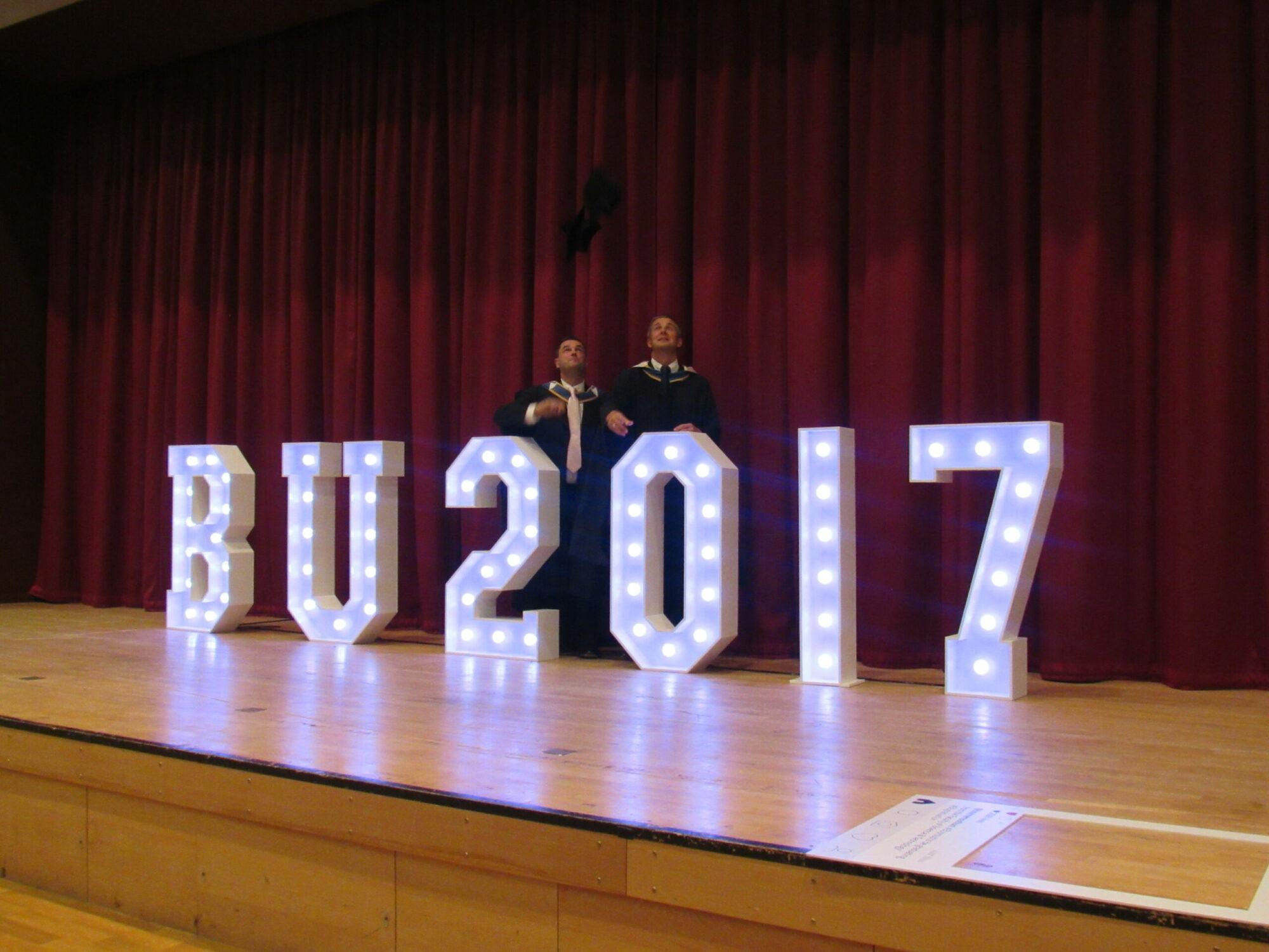 TDSi's Ian Hoare Gains Master's Degree from Bournemouth University