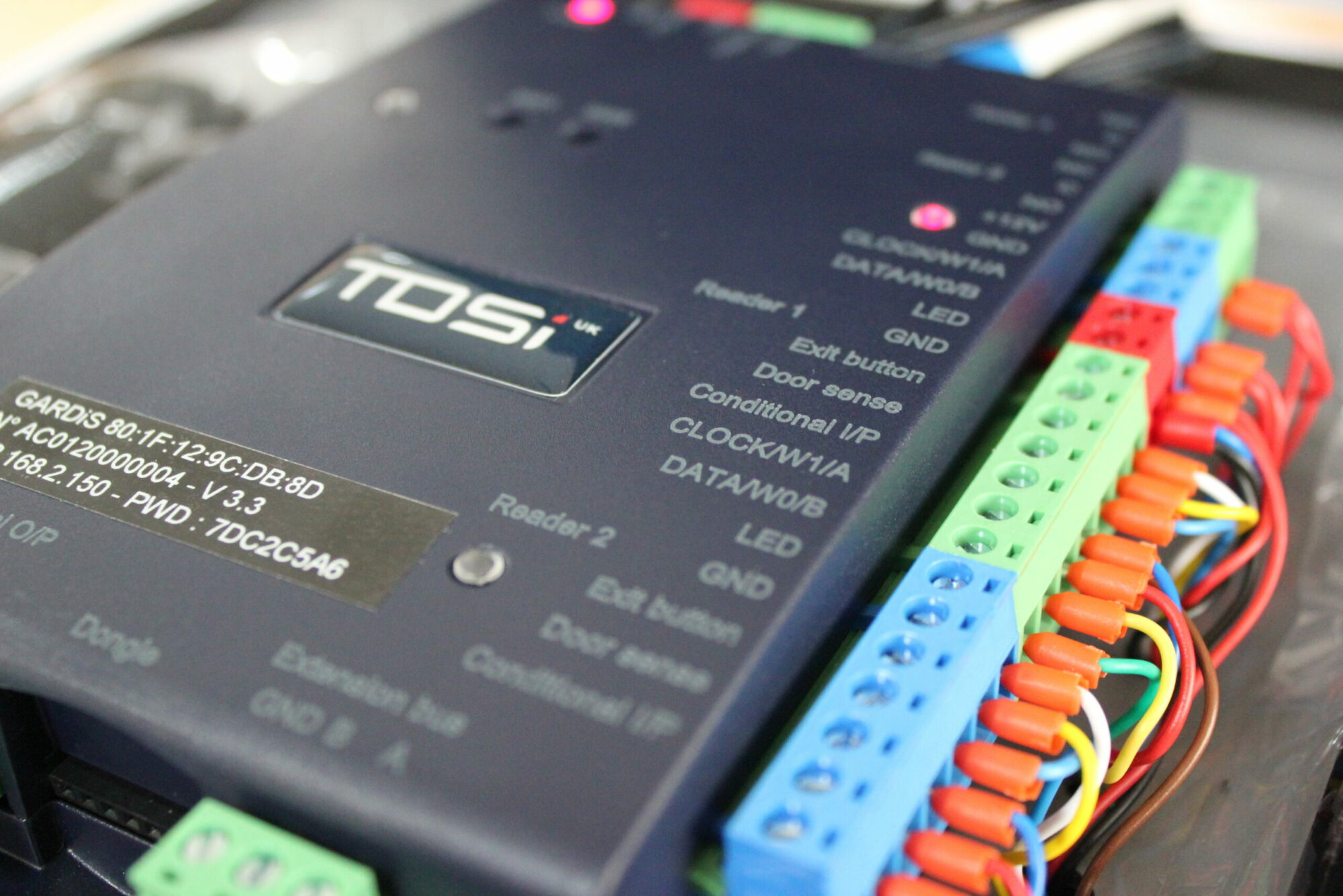 TDSi Launches New Web Embedded Controller