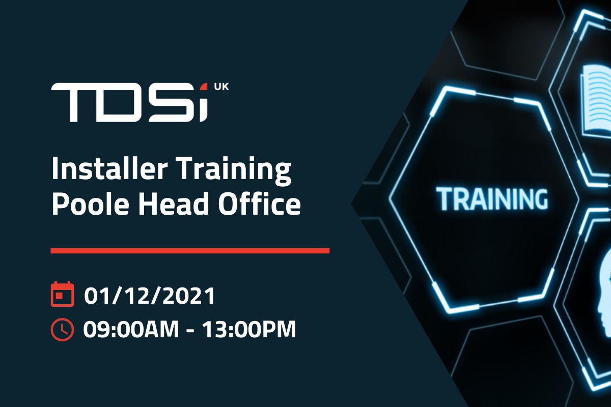 Poole Installer Training – December 1st 2021